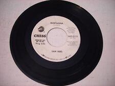 PROMO Sam Dees Maryanna / Love Starvation 1971 45rpm