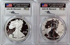 2012 S Silver Eagle San Francisco 75th Anniversary Mint Set PCGS PR70 Mercanti