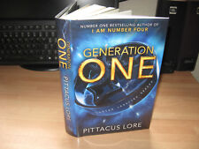 Pittacus Lore Generation One Signed Numbered 115/250 1st Lorien Legacies Reborn
