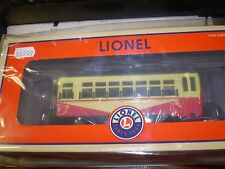 Lionel 6-82412 O-27 Birney Trolley, RDG  NEW NIB