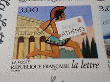 FRANCE 1998, timbre AUTOADHESIF 3158, LETTRE, MARATHON ATHENES neuf**, MNH STAMP