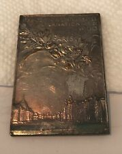 1900 Paris Exposition Silver Medal - Olympic Games