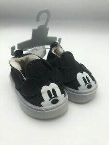 Disney Store Mickey Mouse Ears Shoes - Sneakers - Infant  Size 6 -12 months NWT
