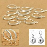 925 Sterling Silver Earring Hooks For Jewelry Making Beading Findings 100PCS Set