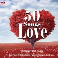 2CD 50 Chansons Love Romantique Music Musica D'Amore Ben E. King Frank Sinatra