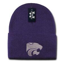 Purple Kansas K State University KSU Wildcats NCAA Cuffed Winter Beanie Hat Cap