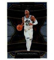 2019-20 Panini Select Basketball Concourse Base Card #90 Donovan Mitchell Jazz