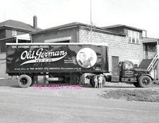 OLD GERMAN BEER TT TRUCK 8.5X11 PHOTO VALLEY WHOLESALE CORP WINCHESTER VA KIDS
