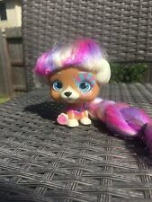 New listing Imc Toys Vip Pet 4.5�H Dog With Pink And Blonde hair
