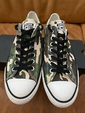 Converse CTAS Pro Ox Camo Skate Shoes size 10 low 2014 lunarlon woodland 142759C