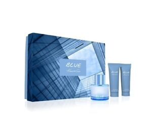 Kenneth Cole  Men's 3-Pc. Blue Eau de Toilette Gift Set