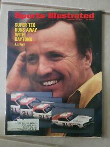 Sports Illustrated - February 28,1972 - A.J. AJ Foyt NASCAR Auto Racing