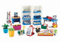 Playmobil Add On #6499 Hardware Store Interior - New Factory Sealed