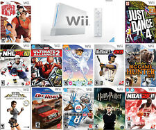 Nintendo Wii Games   Very Good Condition   Choose Video Game   FREE SHIPPING