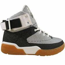 Patrick Ewing Athletics Men's Speedweave White Black Athletic Basketball Shoes