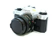 Canon AE-1 35mm Film Camera w/ 50mm 1:1.8 Lens - no squeal