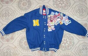 JEFF HAMILTON Wool Varsity Letterman Jacket / NBA / Estimated US Men size 3XL