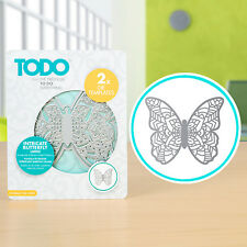 Todo - Henna Butterfly Large Die - 2 DIes for Big Shot or Cuttlebug Machines