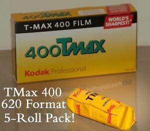 620 Film - Kodak TMax 400 BW ( 5 Roll Pack )!