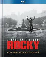 ROCKY (Blu-ray Disc, 2011, Limited Edition; DigiBook) Like New. Stallone.