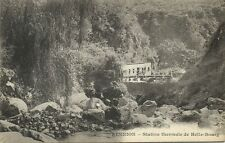 reunion island, HELL-BOURG, Station Thermale (1899) Messageries Maritimes