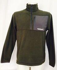 Timberland Microfibre Fleece. Khaki Green. Medium. Unisex.