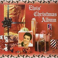 Elvis Presley Reissue 33 RPM Speed Vinyl Records