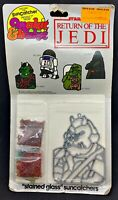 Return of the Jedi Star Wars Stained Glass Suncatcher Gamorrean Guard 1983 Seal