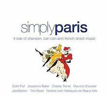 SIMPLY PARIS: VARIOUS ARTISTS (4CD)