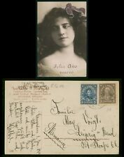 Mayfairstamps Chile 1914 to Germany Feliz Ano Nuevo Picture Postcard wwr7887
