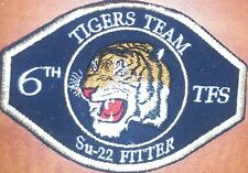 Polish Air Force 6 TFS squadron SU-22 flying tigers patch badge