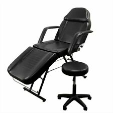 Massage Table Bed Beauty Barber Chair Facial Tattoo Set Adjustable Spa Equipment