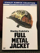 Full Metal Jacket (DVD, 2001, Stanley Kubrick Collection) Matthew Modine