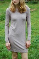 NEW Lou & Grey Fall Ann Taylor LOFT Heathered Dress Women Signature Soft XS-M