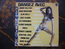 LP COMPILATION DANSEZ AVEC...J.Hallyday,R.Bird,C.François...Philips P 70.444 L