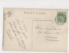 Miss Rose Bird Shaw Street Walsall 1911 544a