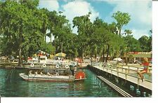 (L) The Colorful Zoo Showboat at the Jacksonville Zoo Jacksonville, Florida 1957
