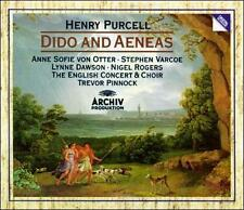 Purcell: Dido and Aeneas (CD, Jul-1989, Archiv Produktion (DG Sub-Label))