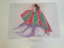 """RC GORMAN SIGNED Poster, """"LITTLE DEER"""" 1996  Size is 24"""" X 28"""""""