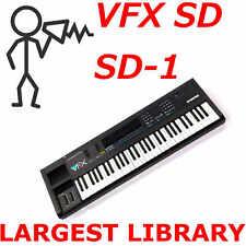 Ensoniq VFX VFX-SD SD-1 3500+ Patches Sounds Programs Largest Library