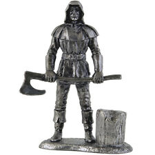 Executioner. Tin toy soldier 54mm miniature statue. metal sculpture