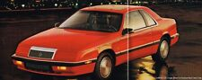 1991 Chrysler Brochure/Catalog: IMPERIAL,NEW YORKER 5th Ave,LeBARON,TOWN&COUNTRY