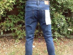 Ex Asos stock Only and Sons medium blue Skinny Jeans 28-36w bnwt