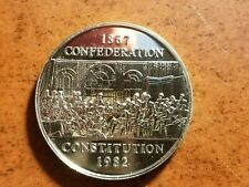 1982 Canadian Commemorative Dollar, with case        L01C