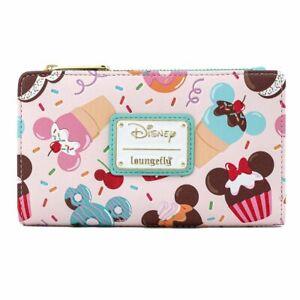 Loungefly Disney Mickey & Minnie Mouse Sweet Treats Wallet