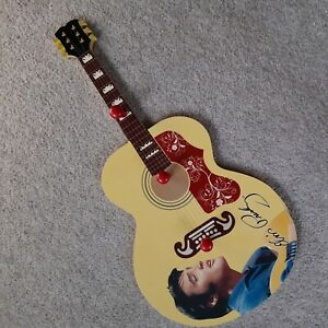 Elvis Presley Wood Guitar Coat Rack from USA very rare