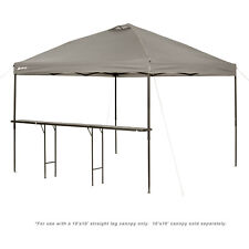 Folding Canopy Bar Tent Table Easy Set Up Ozark Trail Bar-Height 10' Patio New