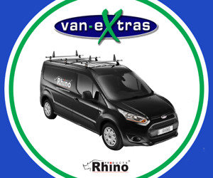 Rhino Products 3 Delta Bars for a Peugeot Partner 2008-2018 w/ Load Stops