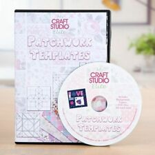 Tattered Lace mio studio Craft Elite patchwork modelli CD ROM-opera d'arte Creatore