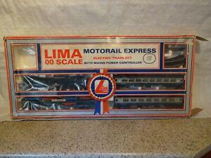 LIMA MOTORAIL EXPRESS 104406 TRAIN SET BOXED HO/00 GAUGE.